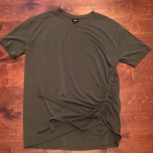 Mossimo Olive Green Top - Size L